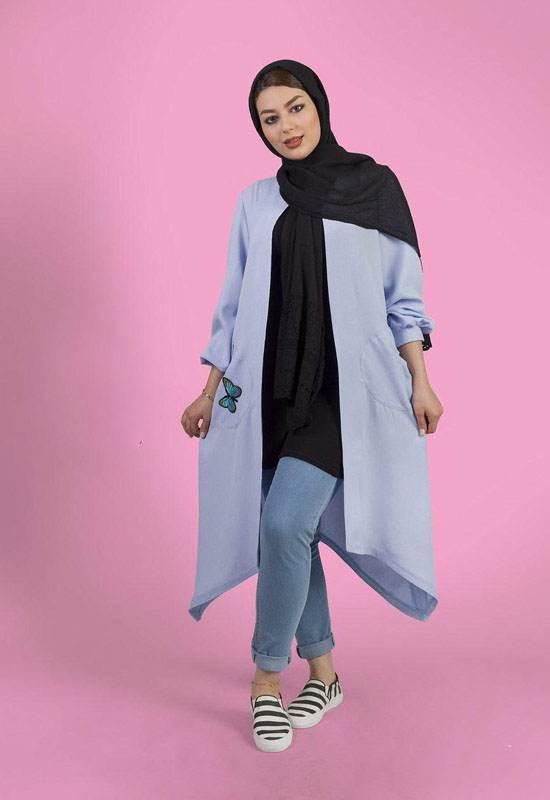 مدل های مانتو تابستانی ایرانی برند آتریسا