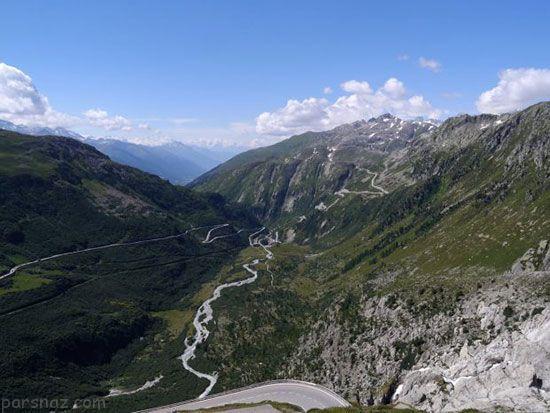 با رویایی ترین جاده های اروپایی آشنا شوید