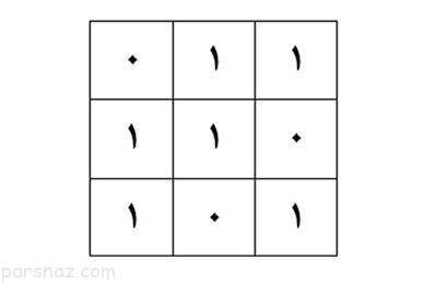 معمای المپیادی و سخت جدول اعداد