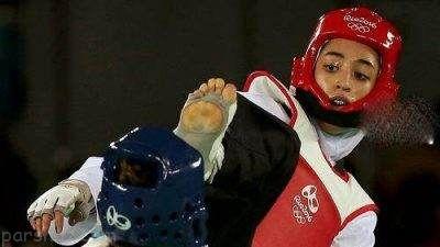 کیمیا علیزاده مدال نقره رقابت های جهانی را گرفت