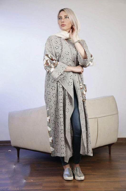 مدل های مانتو تابستانی از برند ایرانی ساراش