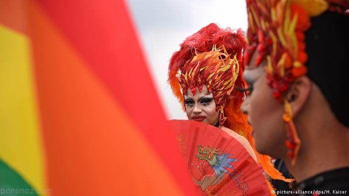 عکس های عجیب و غریب رژه همجنس گرایان آلمان