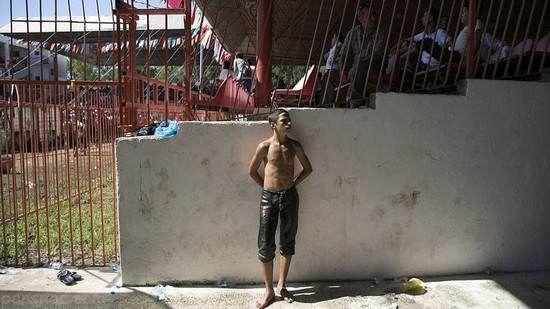 مسابقات جذاب کشتی با بدن های روغنی در ترکیه
