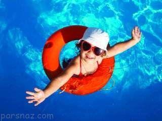 نکات شنا کردن در فصل گرم تابستان