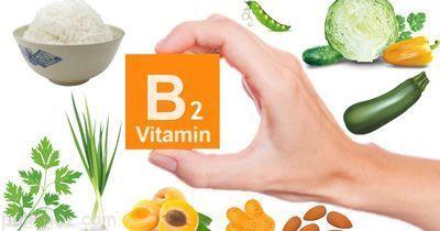بررسی فواید ویتامین B2 در بدن انسان