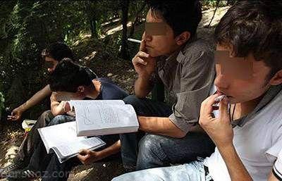 بررسی دلایل معتاد شدن دانش آموزان