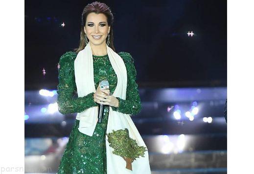 استایل جذاب نانسی عجرم خواننده عرب در جشنواره سدرز