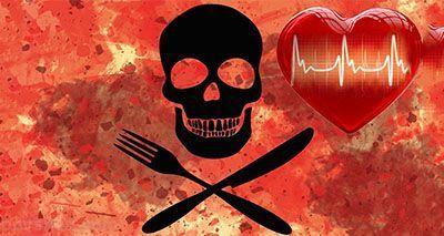 6 ماده خوراکی که برای قلب مانند سم هستند