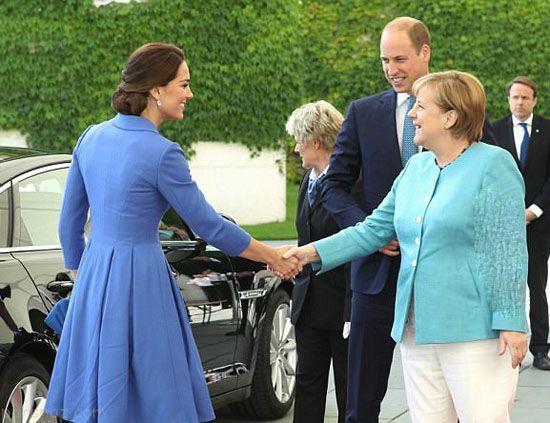 استایل کیت میدلتون در ضیافت سلطنتی برلین