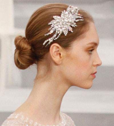 مدل های جدید شینیون مو عروس 2017