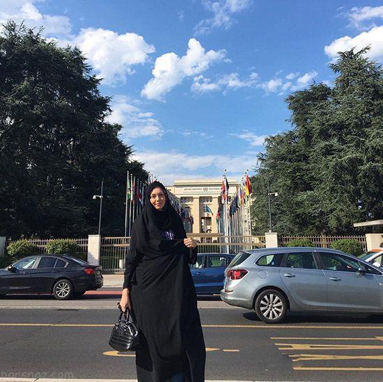 عکس های آزاده نامداری و همسرش در سفر ایتالیا