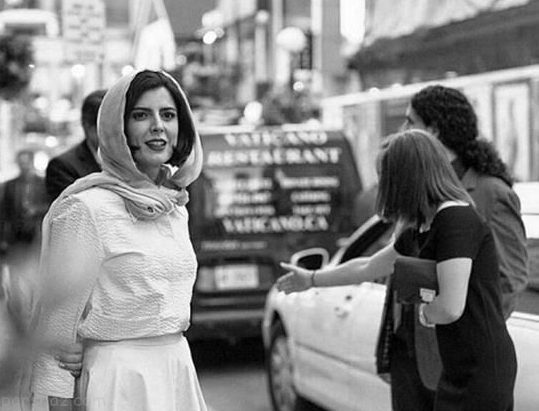 عکس های جالب لیلا حاتمی در تورنتو کانادا