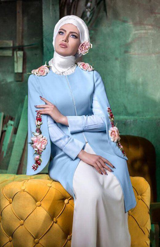 مدل های مانتو تابستانی شیک برند ایرانی Hunar