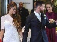 مراسم عروسی مسی و همسرش با حضور ستاره ها