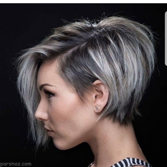 جذاب ترین مدل موهای کوتاه زنانه زیبا 2017