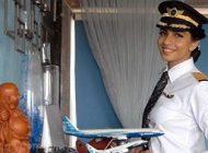 جوان ترین دختر خلبان هواپیمای بوئینگ در جهان