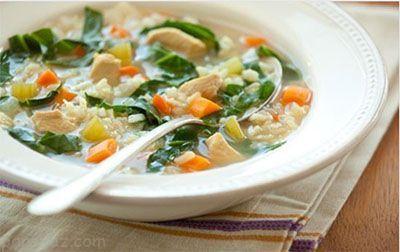 آموزش تهیه سوپ سبزیجات و مرغ رژیمی