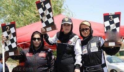 دختران خوشتیپ کرجی در مسابقات رالی