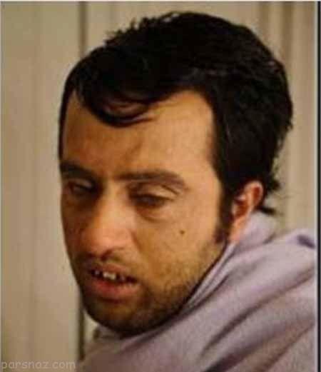 عجیب ترین گریم ها روی صورت بازیگران ایرانی
