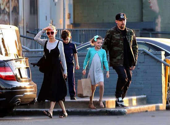 بازیگران و ستاره های هالیوودی در کنار فرزندانشان