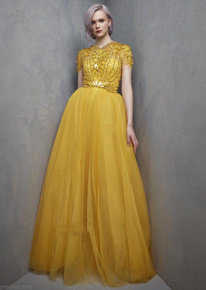جدیدترین مدل های لباس مجلسی برند jennypackham