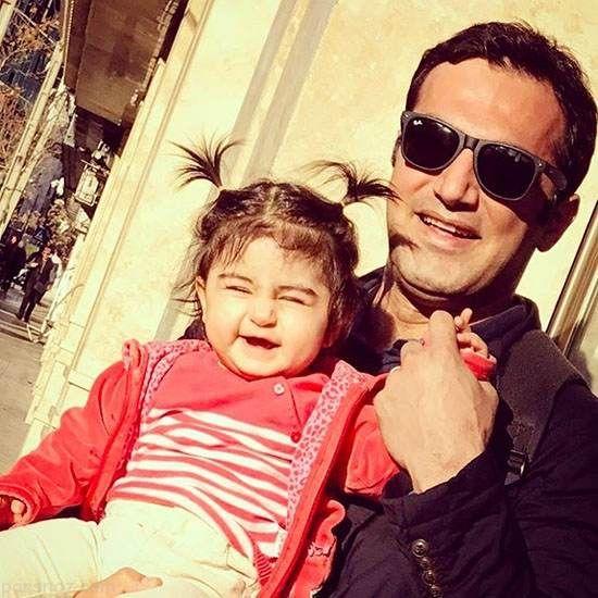 تصاویر بازیگران و ستاره های ایرانی در کنار فرزندانشان