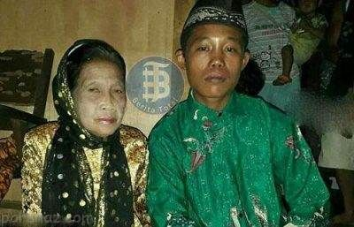 ازدواج عاشقانه و جنجالی پسر 16 ساله با پیرزن 70 ساله