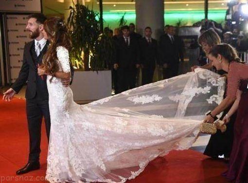 کامل ترین عکس های مراسم ازدواج لیونل مسی