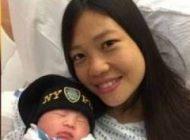 زن جوان بیوه بعد از 2 سال از مرگ همسر زایمان کرد