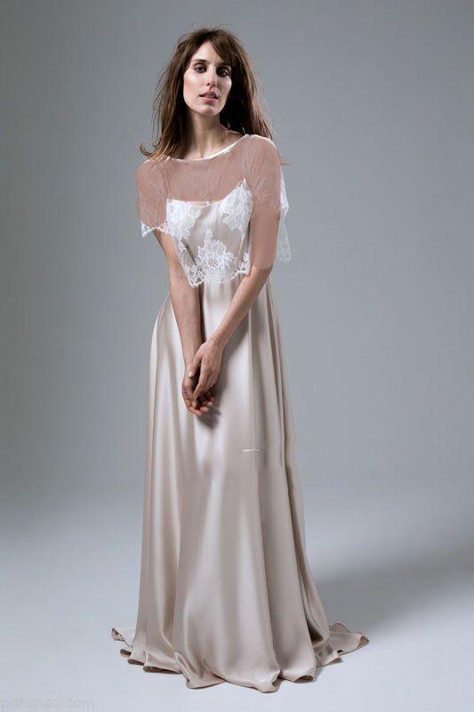 مدل های شیک لباس عروس ساده برند Halfpenny