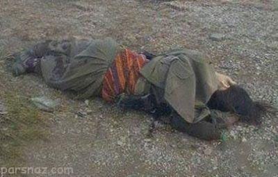 مرد سنندجی همسرش را تیرباران کرد +عکس