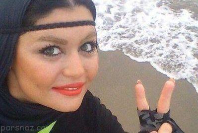 رکورد دختر ایرانی در شنا با حجاب اسلامی +عکس