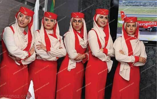 جنجال استخدام دختران زيباي ايراني در ايرلاين عربي