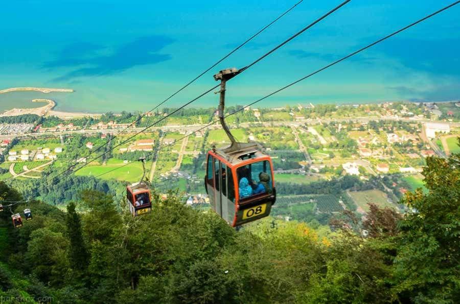 سفر رویایی به رامسر بهشت استان مازندران