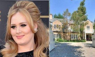 دکوراسیون رویایی خانه ادل خواننده مشهور