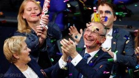 مراسم ازدواج شرم آور همجنس بازها در آلمان +عکس