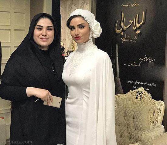 عکس های عروسی هانیه غلامی بازیگر ایرانی