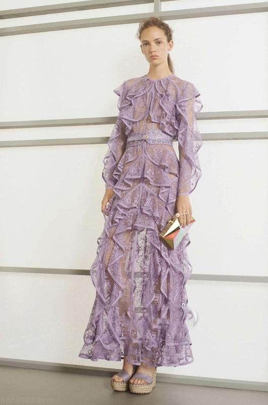مدل لباس مجلسی زنانه شیک برند Elie Saab
