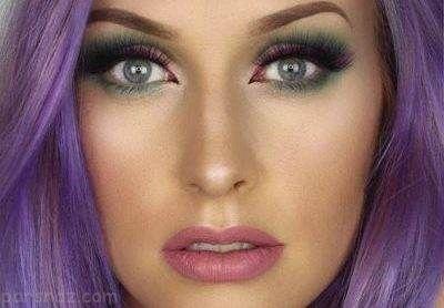مدل های آرایش جذاب برای صورت های کشیده