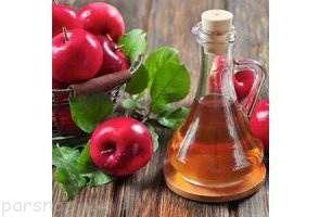 فواید بی نظیر خوردن یک قاشق سرکه سیب