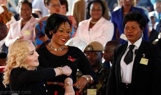بازگشایی بیمارستان مدونا خواننده مشهور در مالاوی