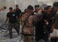 دختر زیبای روسی تک تیرانداز در موصل عراق
