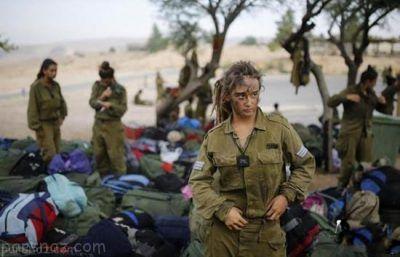 عکس های جالب دختران جوان سرباز اسرائیلی