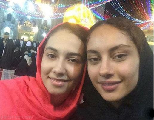 ترلان پروانه با تیپ و استایل چادری در مشهد