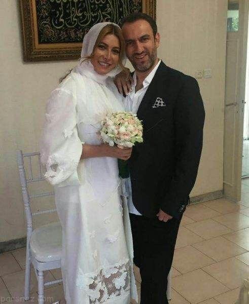 فریبا نادری بازیگر مشهور ازدواج کرد +عکس همسر