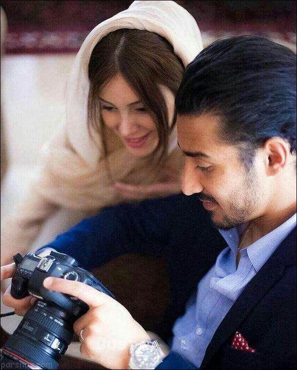 مراسم ازدواج رضا قوچان نژاد و سروین بیات در هلند
