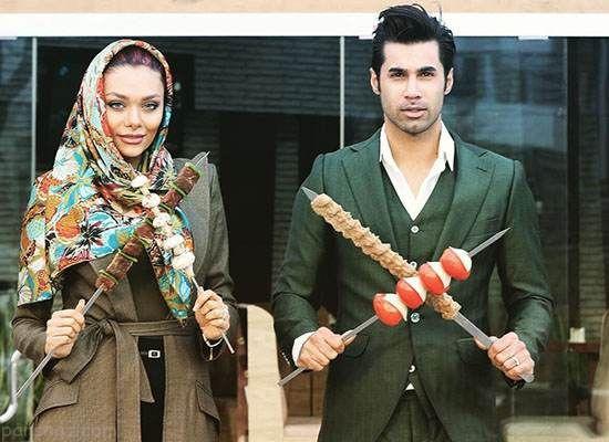 ابراز عشق نسیم نهالی به همسرش محسن فروزان
