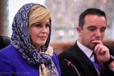 تصاویر برهنه رئیس جمهور کرواسی جنجال به پا کرد
