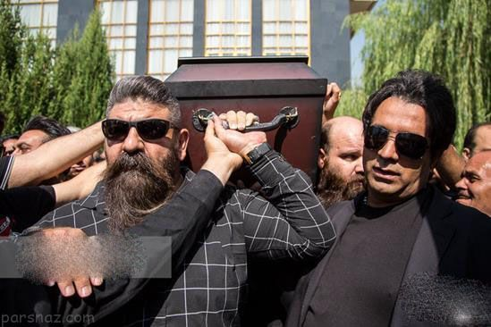 عکس های مراسم خاکسپاری مرحوم محمود جهان