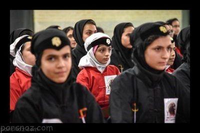 نمایش بی نظیر دختران کونگ فوکار ایرانی +عکس